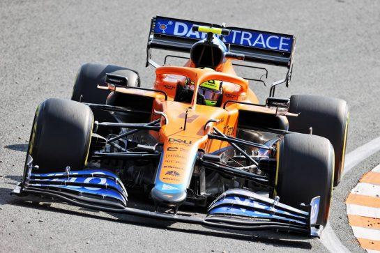 Lando Norris (GBR) McLaren MCL35M. 03.09.2021. Formula 1 World Championship, Rd 13, Dutch Grand Prix, Zandvoort, Netherlands, Practice Day. - www.xpbimages.com, EMail: requests@xpbimages.com © Copyright: Charniaux / XPB Images