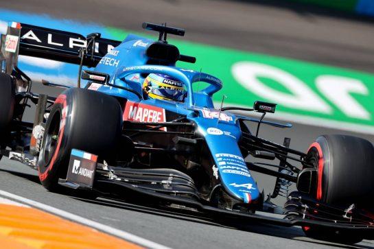 Fernando Alonso (ESP), Alpine F1 Team 03.09.2021. Formula 1 World Championship, Rd 13, Dutch Grand Prix, Zandvoort, Netherlands, Practice Day.- www.xpbimages.com, EMail: requests@xpbimages.com © Copyright: Charniaux / XPB Images