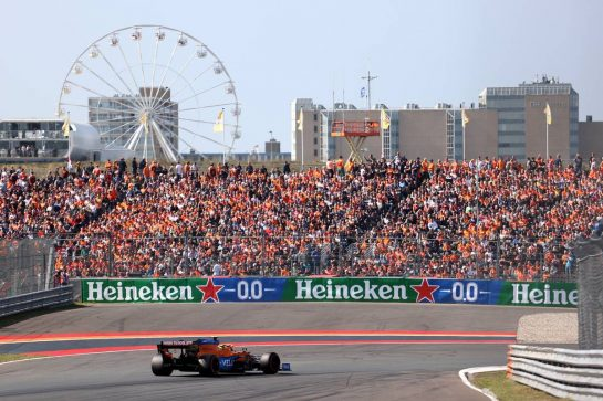 Lando Norris (GBR), McLaren F1 Team 03.09.2021. Formula 1 World Championship, Rd 13, Dutch Grand Prix, Zandvoort, Netherlands, Practice Day.- www.xpbimages.com, EMail: requests@xpbimages.com © Copyright: Charniaux / XPB Images