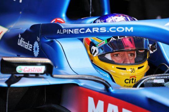 Fernando Alonso (ESP) Alpine F1 Team A521. 03.09.2021. Formula 1 World Championship, Rd 13, Dutch Grand Prix, Zandvoort, Netherlands, Practice Day. - www.xpbimages.com, EMail: requests@xpbimages.com © Copyright: Moy / XPB Images