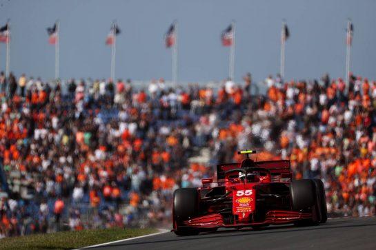 Carlos Sainz Jr (ESP) Ferrari SF-21. 03.09.2021. Formula 1 World Championship, Rd 13, Dutch Grand Prix, Zandvoort, Netherlands, Practice Day. - www.xpbimages.com, EMail: requests@xpbimages.com © Copyright: Batchelor / XPB Images