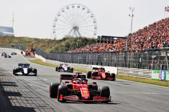 Charles Leclerc (MON) Ferrari SF-21. 03.09.2021. Formula 1 World Championship, Rd 13, Dutch Grand Prix, Zandvoort, Netherlands, Practice Day. - www.xpbimages.com, EMail: requests@xpbimages.com © Copyright: Moy / XPB Images