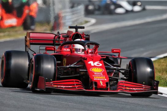Charles Leclerc (MON) Ferrari SF-21. 03.09.2021. Formula 1 World Championship, Rd 13, Dutch Grand Prix, Zandvoort, Netherlands, Practice Day. - www.xpbimages.com, EMail: requests@xpbimages.com © Copyright: XPB Images