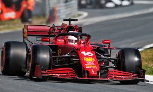 Leclerc and Sainz top Dutch FP2 after Hamilton sidelined