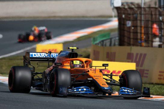 Lando Norris (GBR) McLaren MCL35M. 03.09.2021. Formula 1 World Championship, Rd 13, Dutch Grand Prix, Zandvoort, Netherlands, Practice Day. - www.xpbimages.com, EMail: requests@xpbimages.com © Copyright: XPB Images