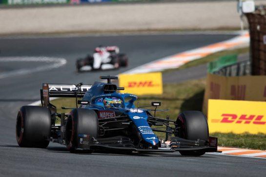 Fernando Alonso (ESP) Alpine F1 Team A521. 03.09.2021. Formula 1 World Championship, Rd 13, Dutch Grand Prix, Zandvoort, Netherlands, Practice Day. - www.xpbimages.com, EMail: requests@xpbimages.com © Copyright: XPB Images