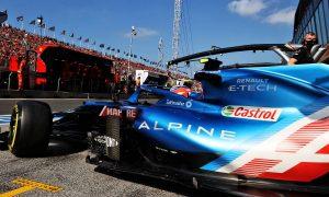 Esteban Ocon (FRA) Alpine F1 Team A521 leaves the pits. 03.09.2021. Formula 1 World Championship, Rd 13, Dutch Grand Prix, Zandvoort