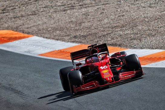 Charles Leclerc (MON) Ferrari SF-21. 04.09.2021. Formula 1 World Championship, Rd 13, Dutch Grand Prix, Zandvoort, Netherlands, Qualifying Day. - www.xpbimages.com, EMail: requests@xpbimages.com © Copyright: Charniaux / XPB Images