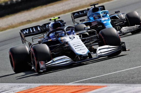Nicholas Latifi (CDN) Williams Racing FW43B. 04.09.2021. Formula 1 World Championship, Rd 13, Dutch Grand Prix, Zandvoort, Netherlands, Qualifying Day. - www.xpbimages.com, EMail: requests@xpbimages.com © Copyright: Batchelor / XPB Images