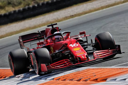 Charles Leclerc (MON) Ferrari SF-21. 04.09.2021. Formula 1 World Championship, Rd 13, Dutch Grand Prix, Zandvoort, Netherlands, Qualifying Day. - www.xpbimages.com, EMail: requests@xpbimages.com © Copyright: Batchelor / XPB Images