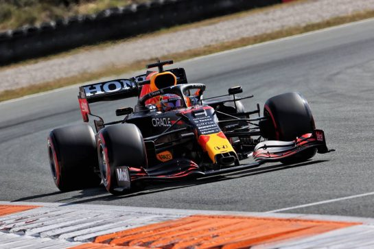 Max Verstappen (NLD) Red Bull Racing RB16B. 04.09.2021. Formula 1 World Championship, Rd 13, Dutch Grand Prix, Zandvoort, Netherlands, Qualifying Day. - www.xpbimages.com, EMail: requests@xpbimages.com © Copyright: Batchelor / XPB Images