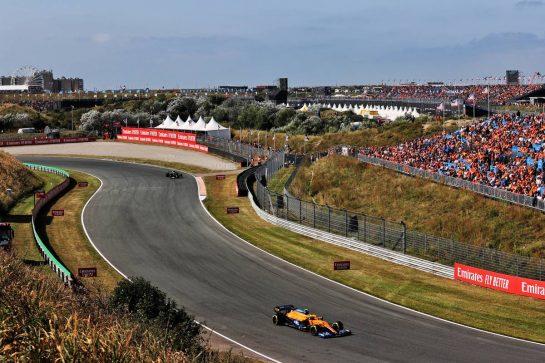Lando Norris (GBR) McLaren MCL35M. 04.09.2021. Formula 1 World Championship, Rd 13, Dutch Grand Prix, Zandvoort, Netherlands, Qualifying Day. - www.xpbimages.com, EMail: requests@xpbimages.com © Copyright: Batchelor / XPB Images