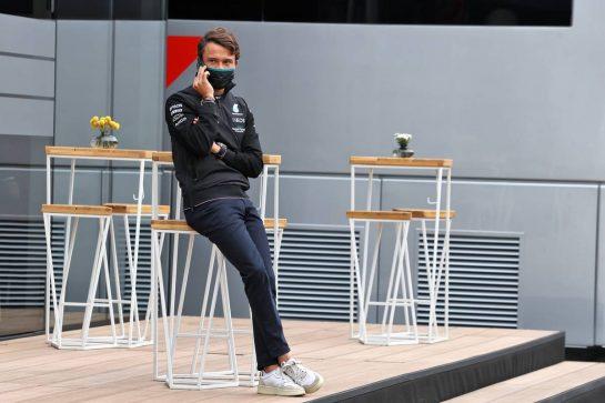 Nyck de Vries (NLD) Mercedes AMG F1 Reserve Driver. 04.09.2021. Formula 1 World Championship, Rd 13, Dutch Grand Prix, Zandvoort, Netherlands, Qualifying Day. - www.xpbimages.com, EMail: requests@xpbimages.com © Copyright: Moy / XPB Images