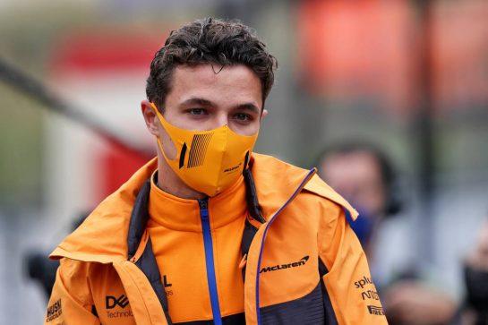 Lando Norris (GBR) McLaren. 04.09.2021. Formula 1 World Championship, Rd 13, Dutch Grand Prix, Zandvoort, Netherlands, Qualifying Day. - www.xpbimages.com, EMail: requests@xpbimages.com © Copyright: Moy / XPB Images