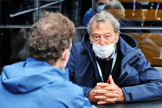 Bernard Dudot (FRA), guest of Alpine F1 Team. 04.09.2021. Formula 1 World Championship, Rd 13, Dutch Grand Prix, Zandvoort, Netherlands, Qualifying Day. - www.xpbimages.com, EMail: requests@xpbimages.com © Copyright: Moy / XPB Images