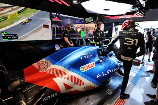 Esteban Ocon (FRA) Alpine F1 Team A521. 04.09.2021. Formula 1 World Championship, Rd 13, Dutch Grand Prix, Zandvoort, Netherlands, Qualifying Day. - www.xpbimages.com, EMail: requests@xpbimages.com © Copyright: Moy / XPB Images