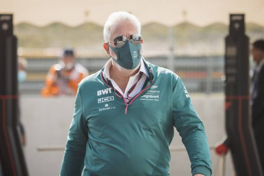 Lawrence Stroll (CDN) Aston Martin F1 Team Investor. 04.09.2021. Formula 1 World Championship, Rd 13, Dutch Grand Prix, Zandvoort, Netherlands, Qualifying Day. - www.xpbimages.com, EMail: requests@xpbimages.com © Copyright: Bearne / XPB Images