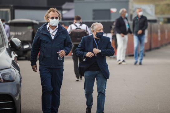 Jean Todt (FRA) FIA President. 04.09.2021. Formula 1 World Championship, Rd 13, Dutch Grand Prix, Zandvoort, Netherlands, Qualifying Day. - www.xpbimages.com, EMail: requests@xpbimages.com © Copyright: Bearne / XPB Images