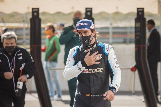 Fernando Alonso (ESP) Alpine F1 Team. 04.09.2021. Formula 1 World Championship, Rd 13, Dutch Grand Prix, Zandvoort, Netherlands, Qualifying Day. - www.xpbimages.com, EMail: requests@xpbimages.com © Copyright: Bearne / XPB Images