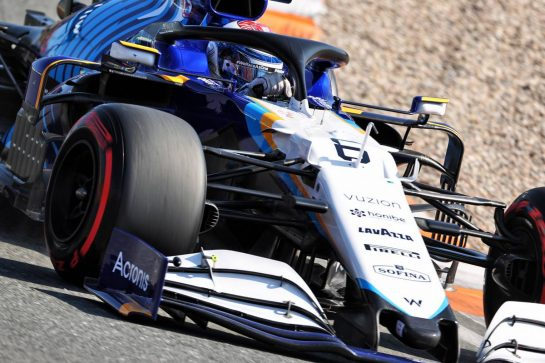 Nicholas Latifi (CDN) Williams Racing FW43B. 04.09.2021. Formula 1 World Championship, Rd 13, Dutch Grand Prix, Zandvoort, Netherlands, Qualifying Day. - www.xpbimages.com, EMail: requests@xpbimages.com © Copyright: Charniaux / XPB Images