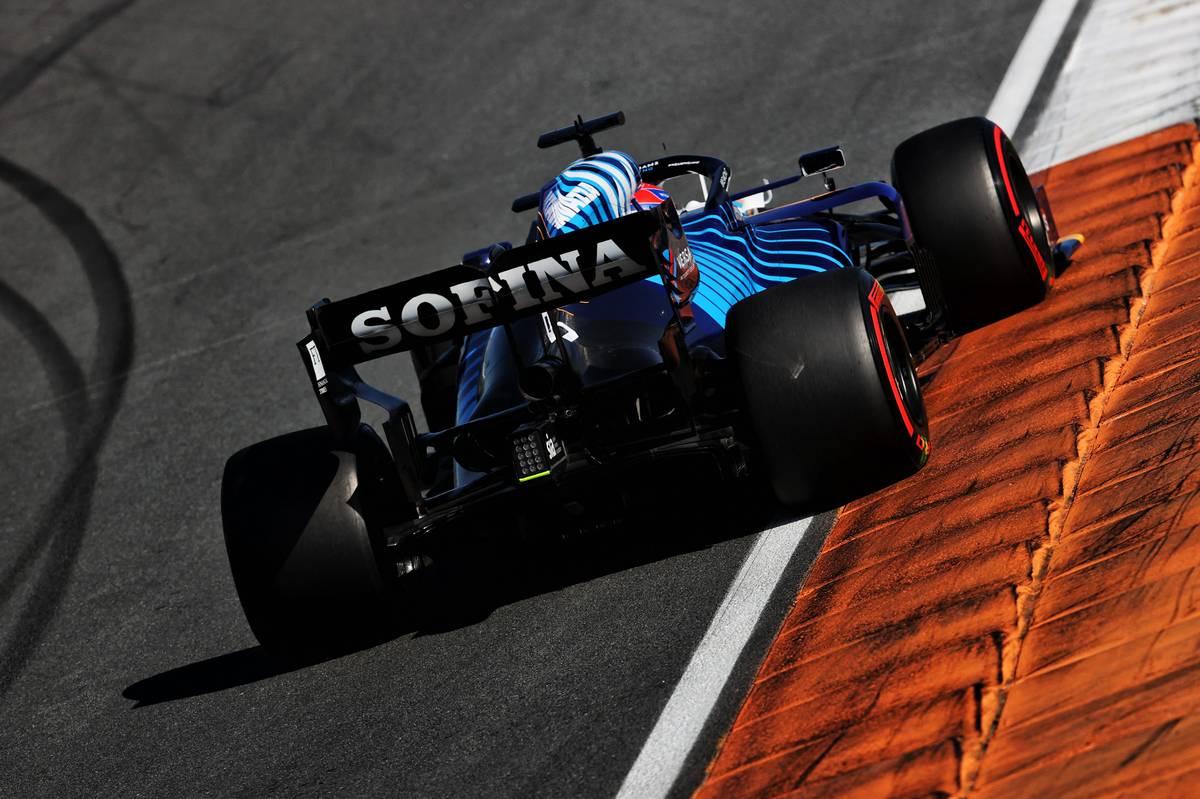 George Russell (GBR) Williams Racing FW43B. 04.09.2021. Formula 1 World Championship, Rd 13, Dutch Grand Prix, Zandvoort