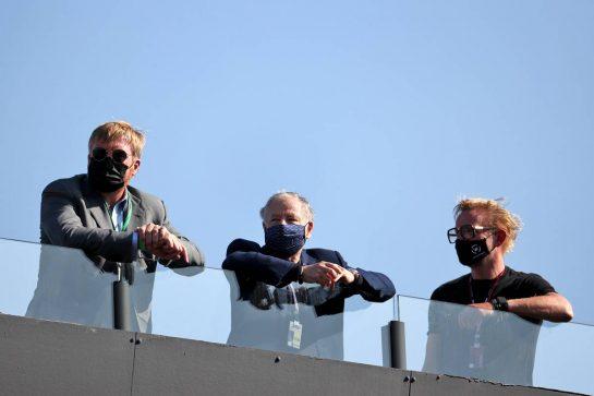 Jean Todt (FRA) FIA President (Centre) with Prince Bernhard of Orange-Nassau, van Vollenhoven (NLD) Zandvoort Circuit Co-Owner (Right). 04.09.2021. Formula 1 World Championship, Rd 13, Dutch Grand Prix, Zandvoort, Netherlands, Qualifying Day. - www.xpbimages.com, EMail: requests@xpbimages.com © Copyright: Batchelor / XPB Images