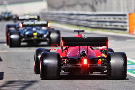Charles Leclerc (MON) Ferrari SF-21. 04.09.2021. Formula 1 World Championship, Rd 13, Dutch Grand Prix, Zandvoort, Netherlands, Qualifying Day. - www.xpbimages.com, EMail: requests@xpbimages.com © Copyright: Moy / XPB Images