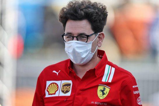 Mattia Binotto (ITA) Ferrari Team Principal. 05.09.2021. Formula 1 World Championship, Rd 13, Dutch Grand Prix, Zandvoort, Netherlands, Race Day. - www.xpbimages.com, EMail: requests@xpbimages.com © Copyright: Moy / XPB Images
