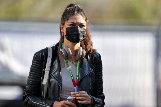 Linda Morselli, girlfriend of Fernando Alonso (ESP) Alpine F1 Team. 05.09.2021. Formula 1 World Championship, Rd 13, Dutch Grand Prix, Zandvoort, Netherlands, Race Day. - www.xpbimages.com, EMail: requests@xpbimages.com © Copyright: Moy / XPB Images