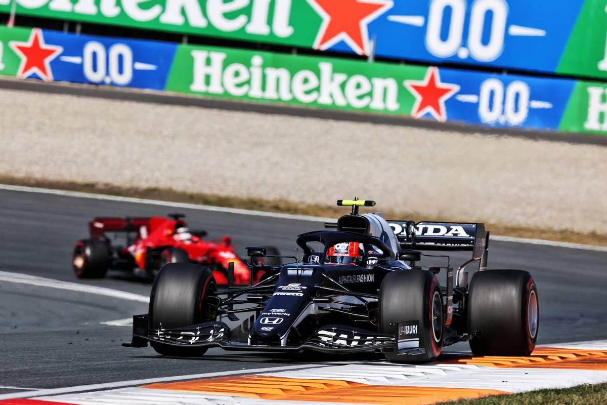 Pierre Gasly (FRA) AlphaTauri AT02. 05.09.2021. Formula 1 World Championship, Rd 13, Dutch Grand Prix, Zandvoort