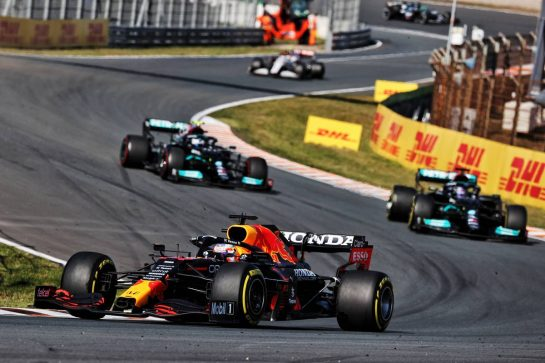 Max Verstappen (NLD) Red Bull Racing RB16B. 05.09.2021. Formula 1 World Championship, Rd 13, Dutch Grand Prix, Zandvoort, Netherlands, Race Day. - www.xpbimages.com, EMail: requests@xpbimages.com © Copyright: Batchelor / XPB Images