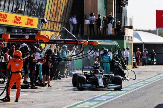 Lewis Hamilton (GBR) Mercedes AMG F1 W12. 05.09.2021. Formula 1 World Championship, Rd 13, Dutch Grand Prix, Zandvoort, Netherlands, Race Day. - www.xpbimages.com, EMail: requests@xpbimages.com © Copyright: Moy / XPB Images