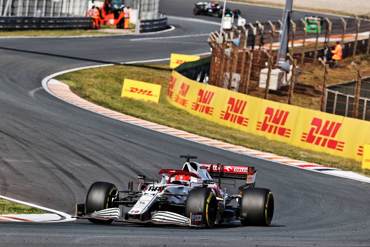 Robert Kubica (POL) Alfa Romeo Racing C39 Reserve Driver. 05.09.2021. Formula 1 World Championship, Rd 13, Dutch Grand Prix, Zandvoort
