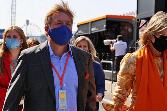 King Willem-Alexander (NLD). 05.09.2021. Formula 1 World Championship, Rd 13, Dutch Grand Prix, Zandvoort, Netherlands, Race Day. - www.xpbimages.com, EMail: requests@xpbimages.com © Copyright: Moy / XPB Images