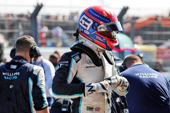 George Russell (GBR) Williams Racing on the grid. 05.09.2021. Formula 1 World Championship, Rd 13, Dutch Grand Prix, Zandvoort, Netherlands, Race Day. - www.xpbimages.com, EMail: requests@xpbimages.com © Copyright: Batchelor / XPB Images