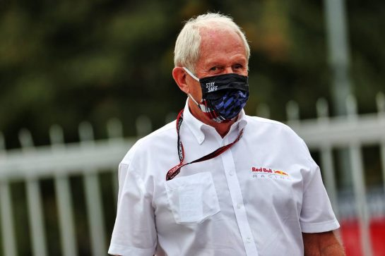 Dr Helmut Marko (AUT) Red Bull Motorsport Consultant. 10.09.2021. Formula 1 World Championship, Rd 14, Italian Grand Prix, Monza, Italy, Practice Day. - www.xpbimages.com, EMail: requests@xpbimages.com © Copyright: Batchelor / XPB Images