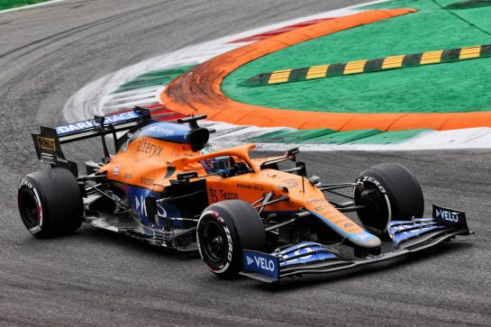 Daniel Ricciardo (AUS) McLaren MCL35M. 10.09.2021. Formula 1 World Championship, Rd 14, Italian Grand Prix, Monza, Italy, Qualifying Day. - www.xpbimages.com, EMail: requests@xpbimages.com © Copyright: Batchelor / XPB Images