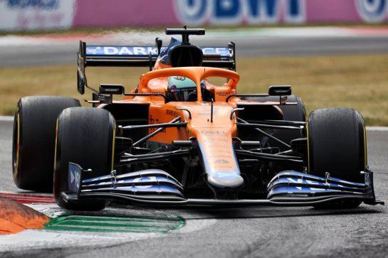 Daniel Ricciardo (AUS) McLaren MCL35M. 10.09.2021. Formula 1 World Championship, Rd 14, Italian Grand Prix, Monza, Italy, Qualifying Day. - www.xpbimages.com, EMail: requests@xpbimages.com © Copyright: Charniaux / XPB Images