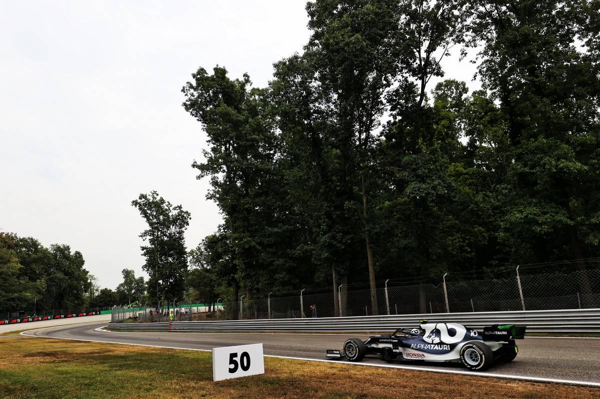Pierre Gasly (FRA) AlphaTauri AT02. 10.09.2021. Formula 1 World Championship, Rd 14, Italian Grand Prix, Monza