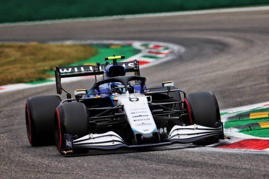 Nicholas Latifi (CDN) Williams Racing FW43B. 10.09.2021. Formula 1 World Championship, Rd 14, Italian Grand Prix, Monza, Italy, Qualifying Day. - www.xpbimages.com, EMail: requests@xpbimages.com © Copyright: Batchelor / XPB Images