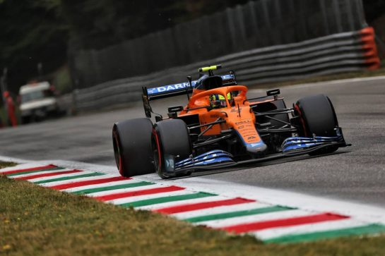 Lando Norris (GBR) McLaren MCL35M. 10.09.2021. Formula 1 World Championship, Rd 14, Italian Grand Prix, Monza, Italy, Qualifying Day. - www.xpbimages.com, EMail: requests@xpbimages.com © Copyright: Batchelor / XPB Images