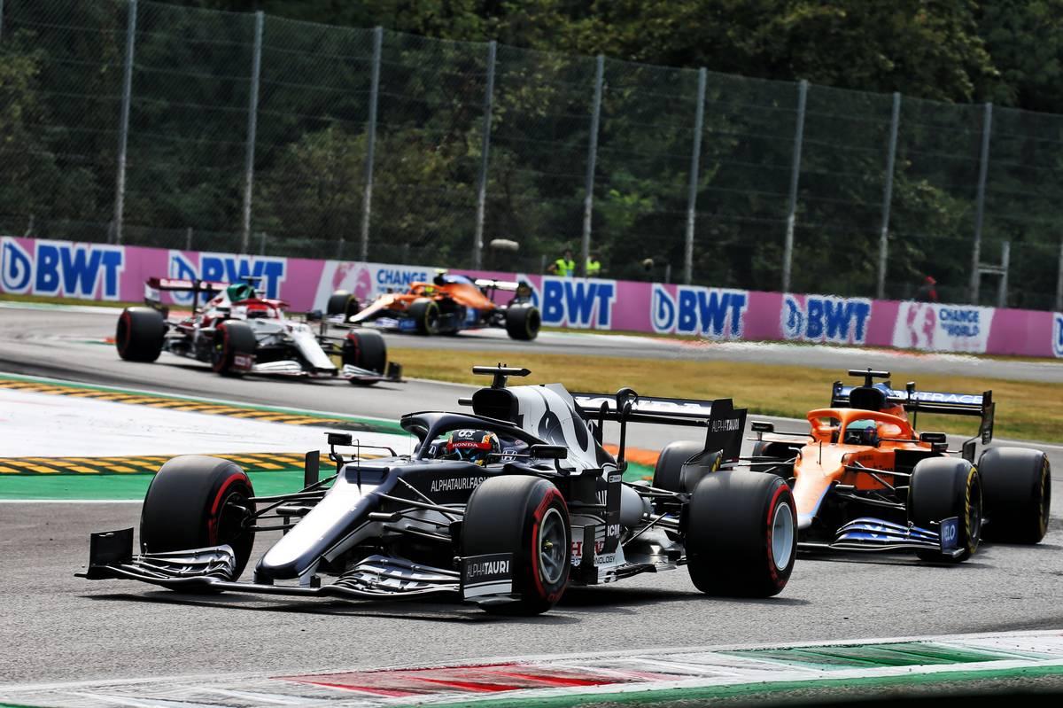 Yuki Tsunoda (JPN) AlphaTauri AT02. 10.09.2021. Formula 1 World Championship, Rd 14, Italian Grand Prix, Monza