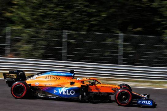 Daniel Ricciardo (AUS) McLaren MCL35M. 11.09.2021. Formula 1 World Championship, Rd 14, Italian Grand Prix, Monza, Italy, Sprint Day. - www.xpbimages.com, EMail: requests@xpbimages.com © Copyright: Batchelor / XPB Images