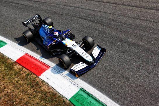 Nicholas Latifi (CDN) Williams Racing FW43B. 11.09.2021. Formula 1 World Championship, Rd 14, Italian Grand Prix, Monza, Italy, Sprint Day. - www.xpbimages.com, EMail: requests@xpbimages.com © Copyright: Charniaux / XPB Images