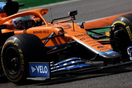 Daniel Ricciardo (AUS) McLaren MCL35M.11.09.2021. Formula 1 World Championship, Rd 14, Italian Grand Prix, Monza, Italy, Sprint Day.- www.xpbimages.com, EMail: requests@xpbimages.com © Copyright: Batchelor / XPB Images
