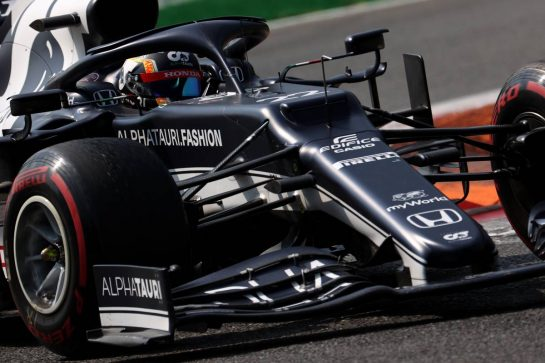 Yuki Tsunoda (JPN) AlphaTauri AT02.11.09.2021. Formula 1 World Championship, Rd 14, Italian Grand Prix, Monza, Italy, Sprint Day.- www.xpbimages.com, EMail: requests@xpbimages.com © Copyright: Batchelor / XPB Images