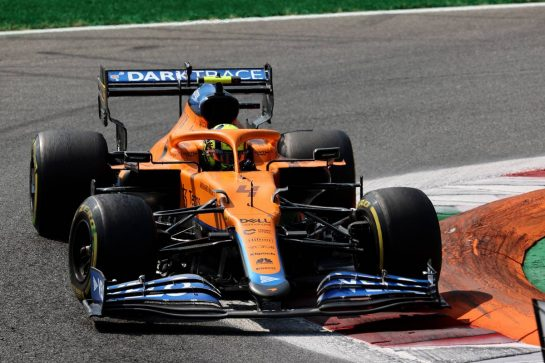Lando Norris (GBR) McLaren MCL35M.11.09.2021. Formula 1 World Championship, Rd 14, Italian Grand Prix, Monza, Italy, Sprint Day.- www.xpbimages.com, EMail: requests@xpbimages.com © Copyright: Batchelor / XPB Images