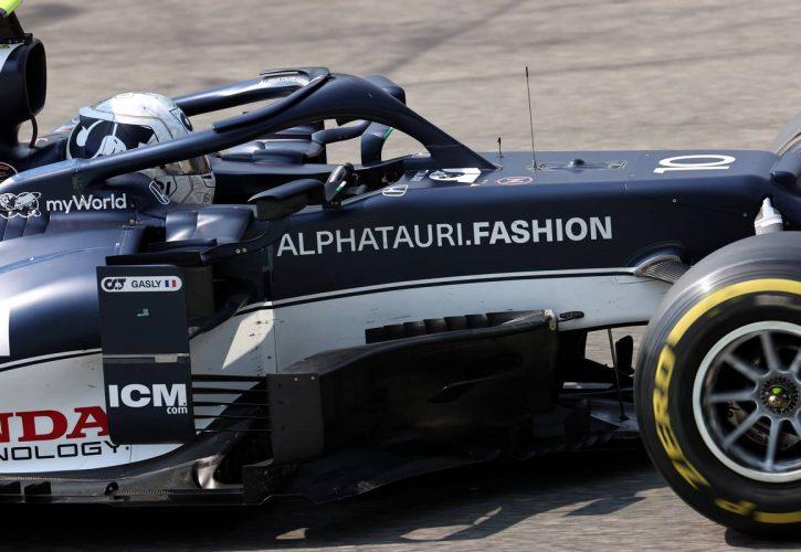 Pierre Gasly (FRA) AlphaTauri AT02. 11.09.2021. Formula 1 World Championship, Rd 14, Italian Grand Prix, Monza