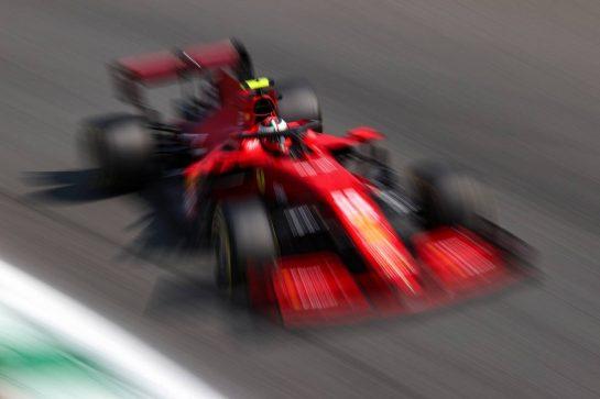 Carlos Sainz Jr (ESP), Scuderia Ferrari 11.09.2021. Formula 1 World Championship, Rd 14, Italian Grand Prix, Monza, Italy, Sprint Day.- www.xpbimages.com, EMail: requests@xpbimages.com © Copyright: Charniaux / XPB Images
