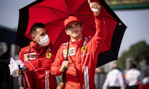 Leclerc sets realistic aim for Ferrari on Sunday